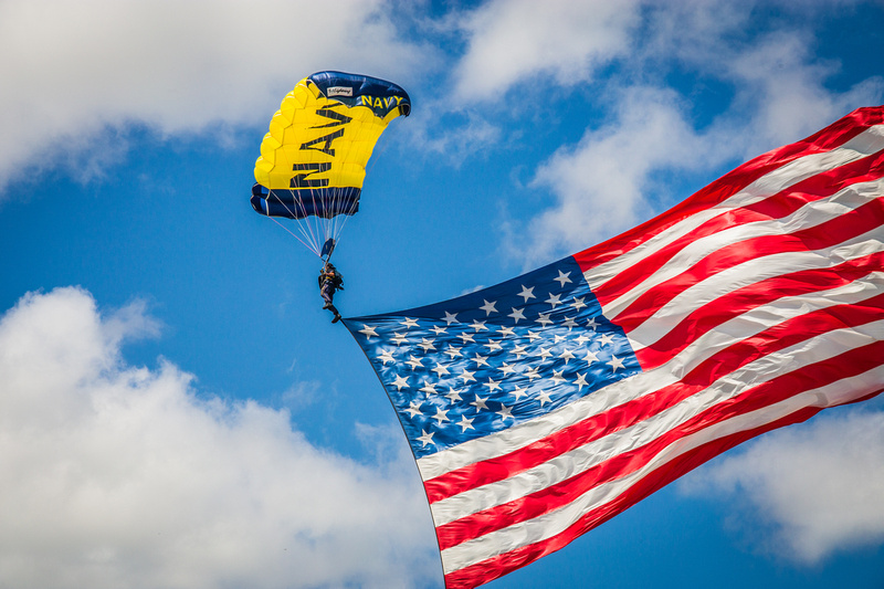 Sound of Speed Air Show performs for community above Missouri