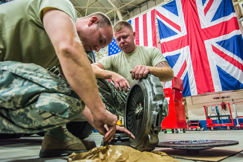 Missouri Airmen arrive in England for training