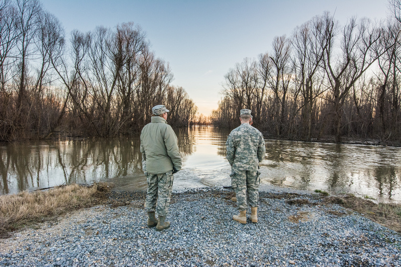 Missouri Guardsmen provide flood relief