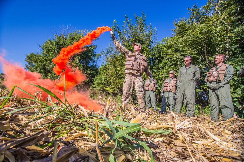 Missouri Airmen learn to survive